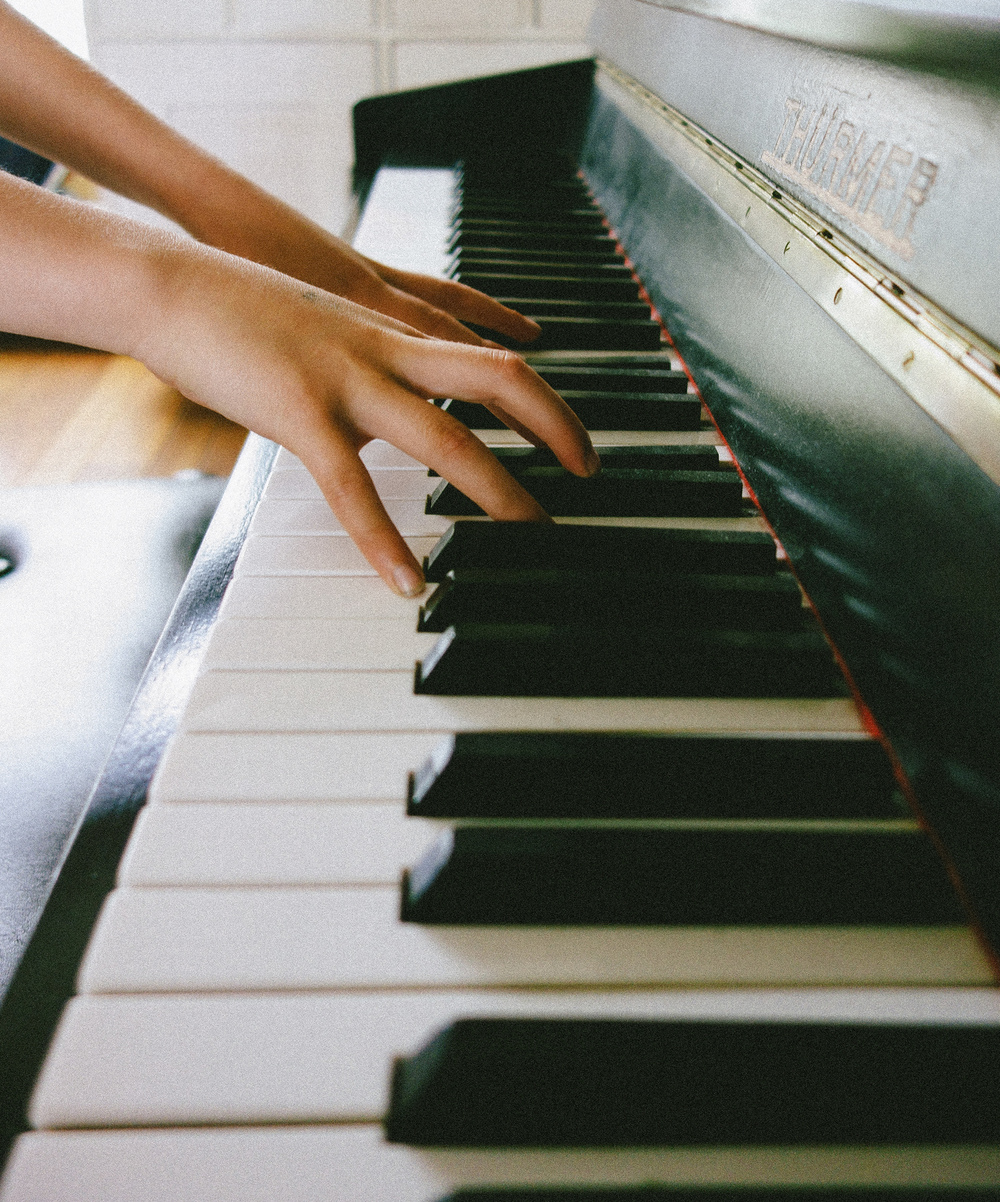 Playing the Piano in VSCO Film