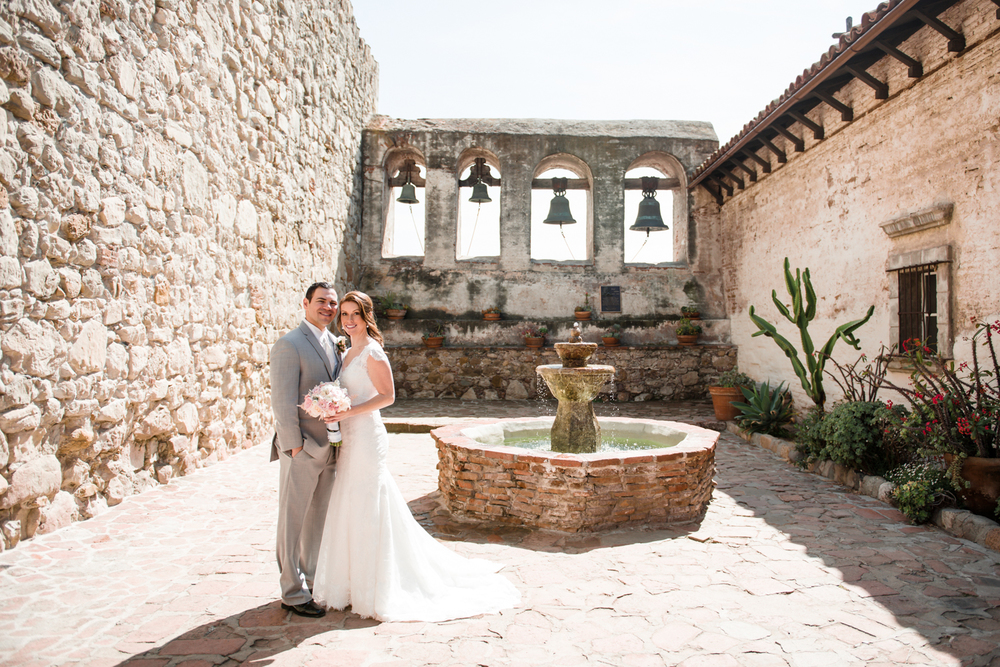 Franciscan gardens wedding mission san juan capistrano maggie eric sweet tea photography for Franciscan gardens san juan capistrano