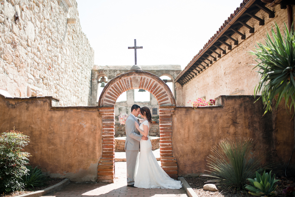 Mission San Juan Capistrano Wedding