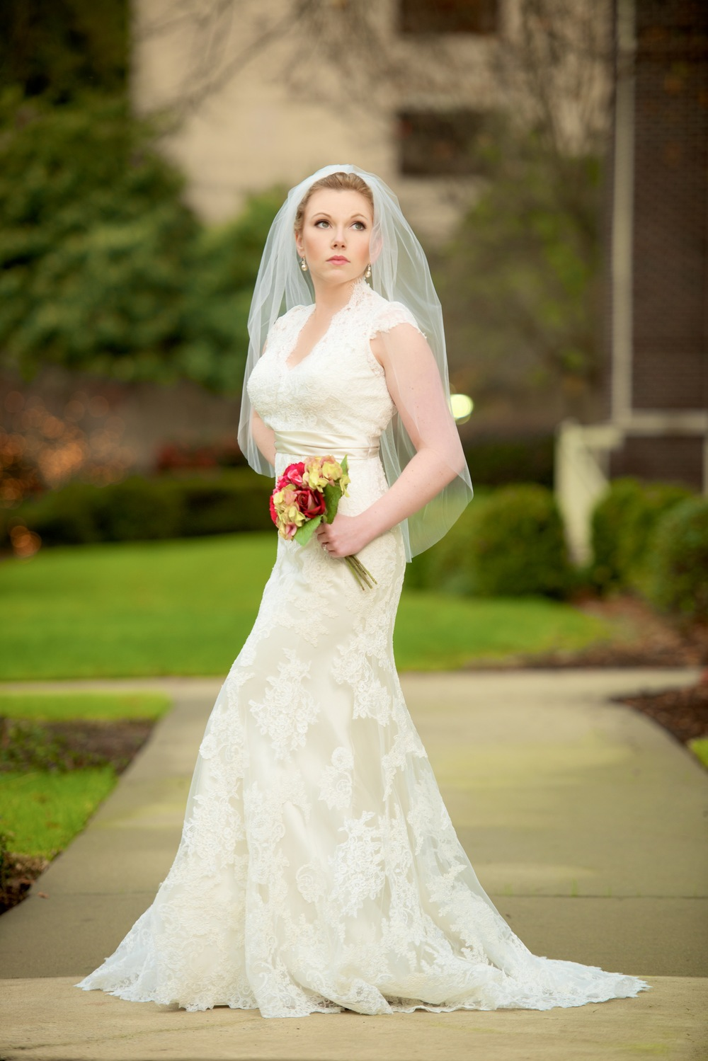 Bridal Portraits, Inn at USC, Bride, Wedding