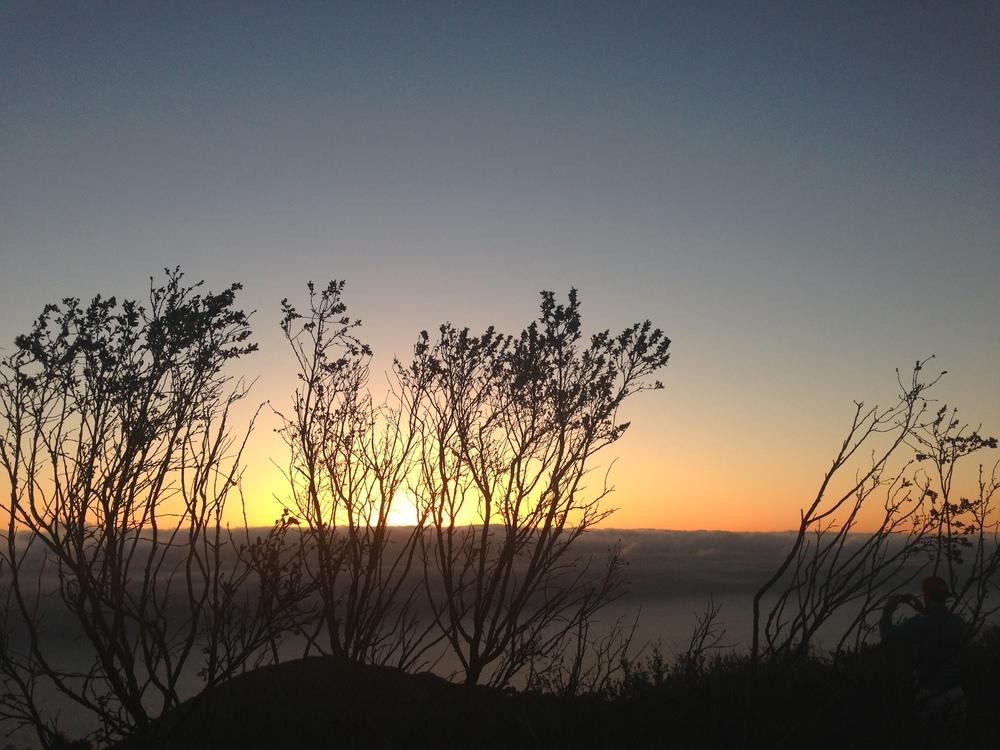 Sunset in Laguna, California last month.