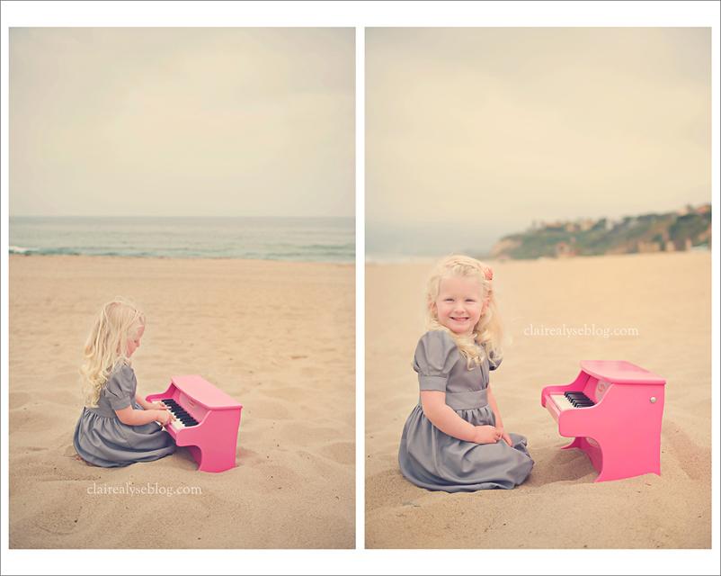 california beach child photographer