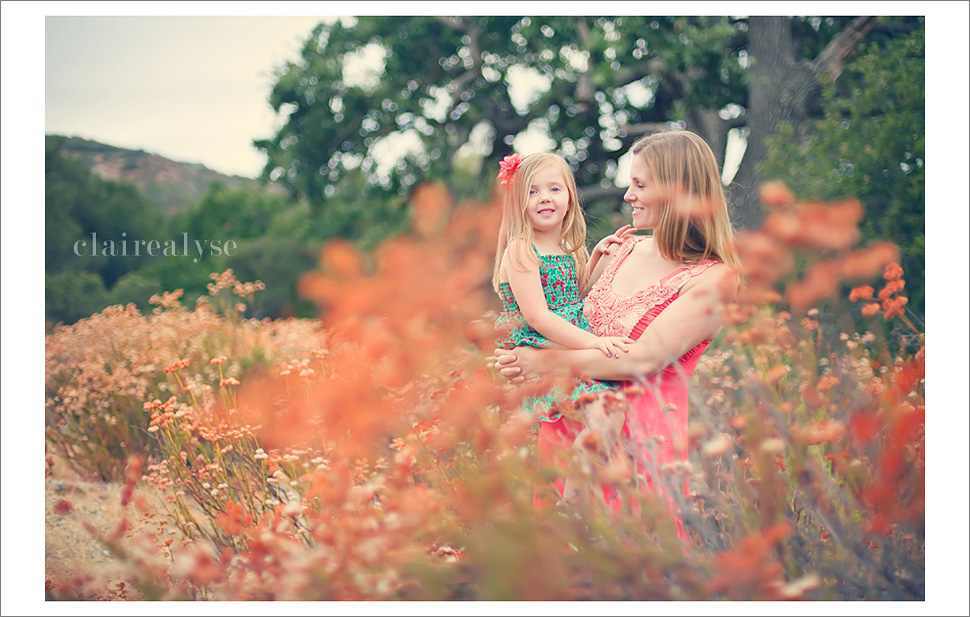 los angeles conejo holiday portraits family child photographer