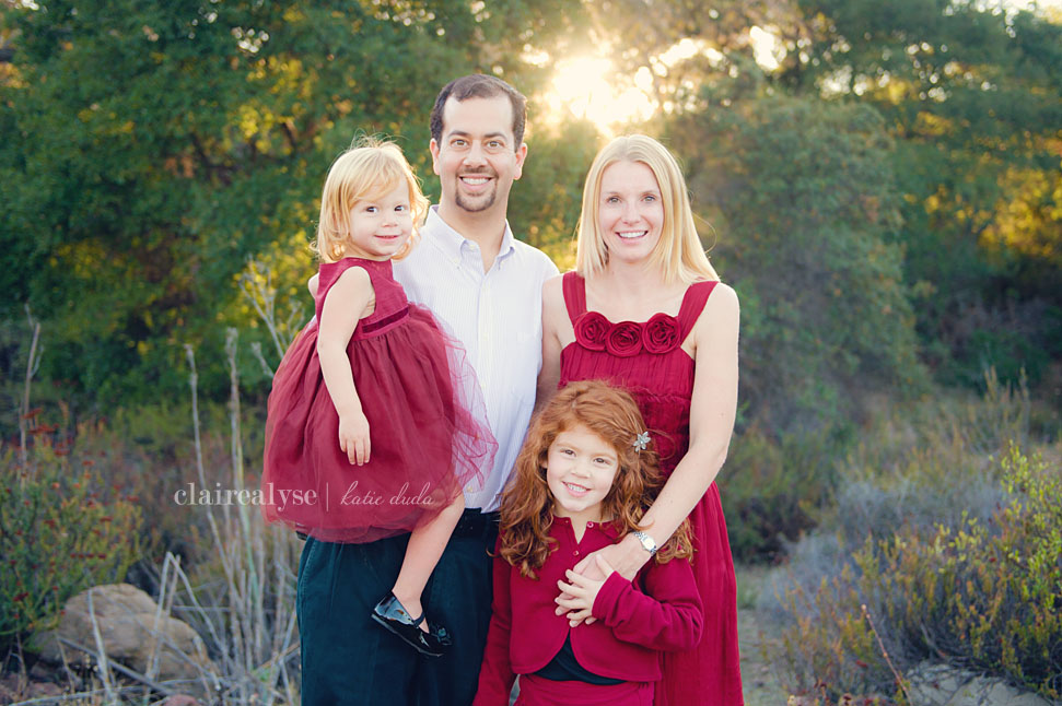 thousand oaks holiday photography family children