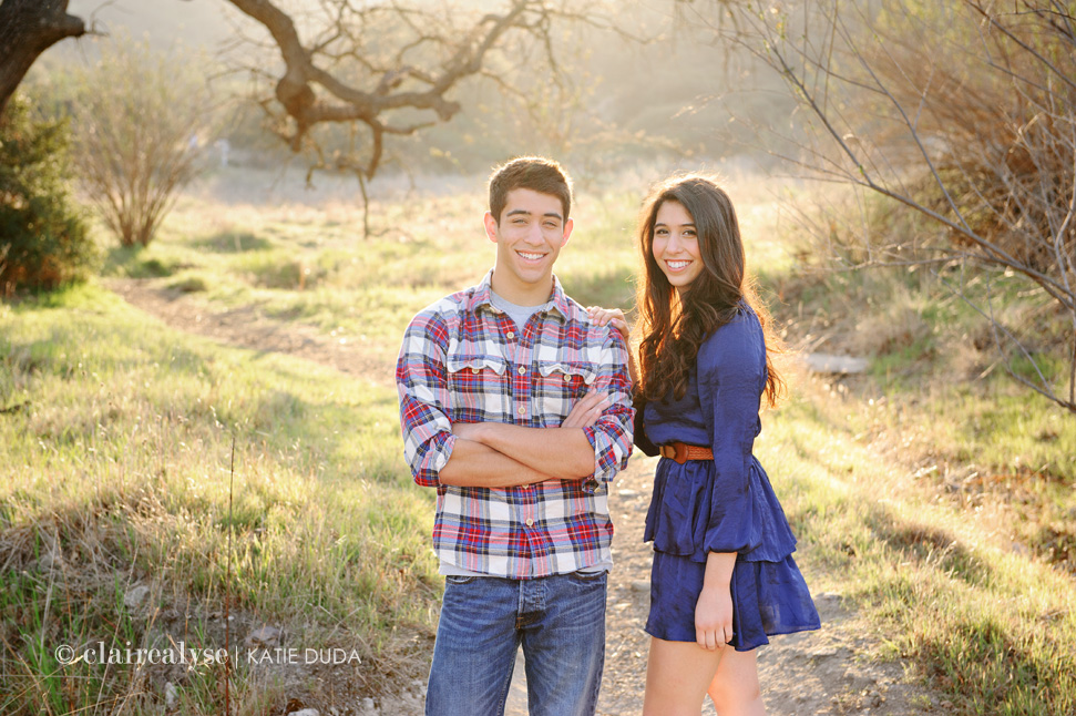 Brother Sister Los Angeles Family Photography Claire Alyse
