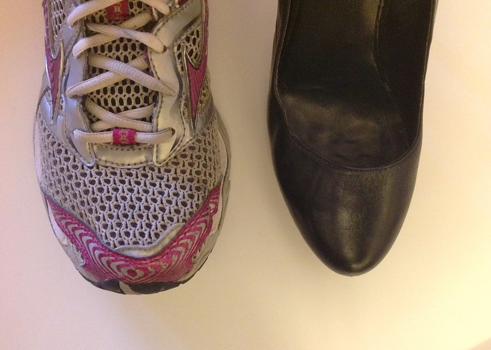 These are both the same shoe size but notice how much more room there is in the toebox for the shoe on the left.