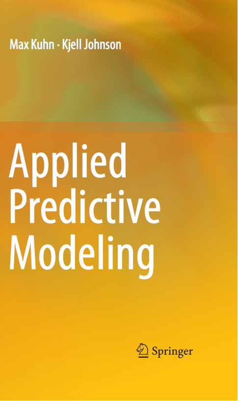 applied predictive modeling max kuhn pdf download