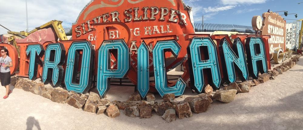 A trip to the Las Vegas Sign Museum // Trey Pasquariello