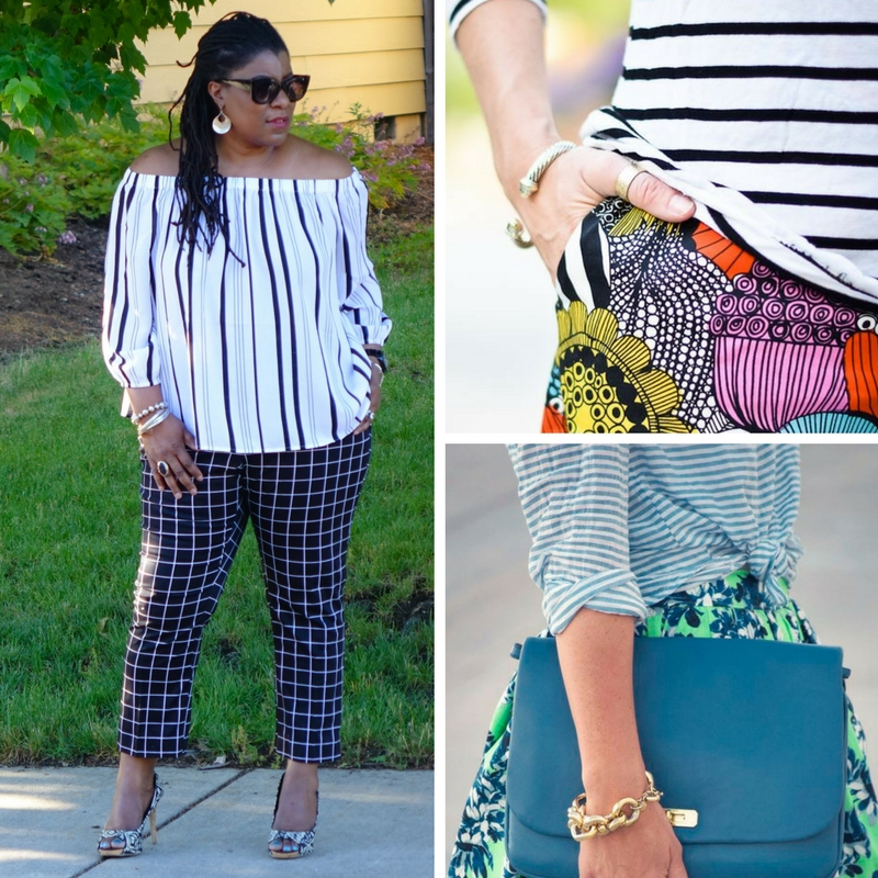 Photo credits (clockwise from left):   evolvingyourimage  ,   stylishwife.com  ,   westcoastcapri.com
