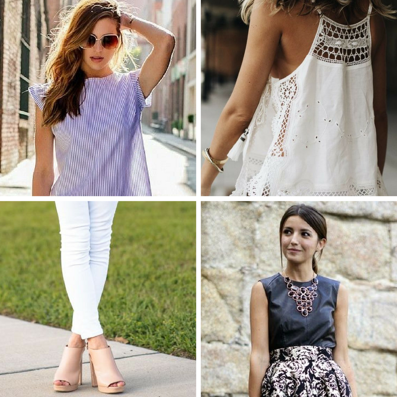 HOW TO WEAR SUMMER STAPLES IN FALL