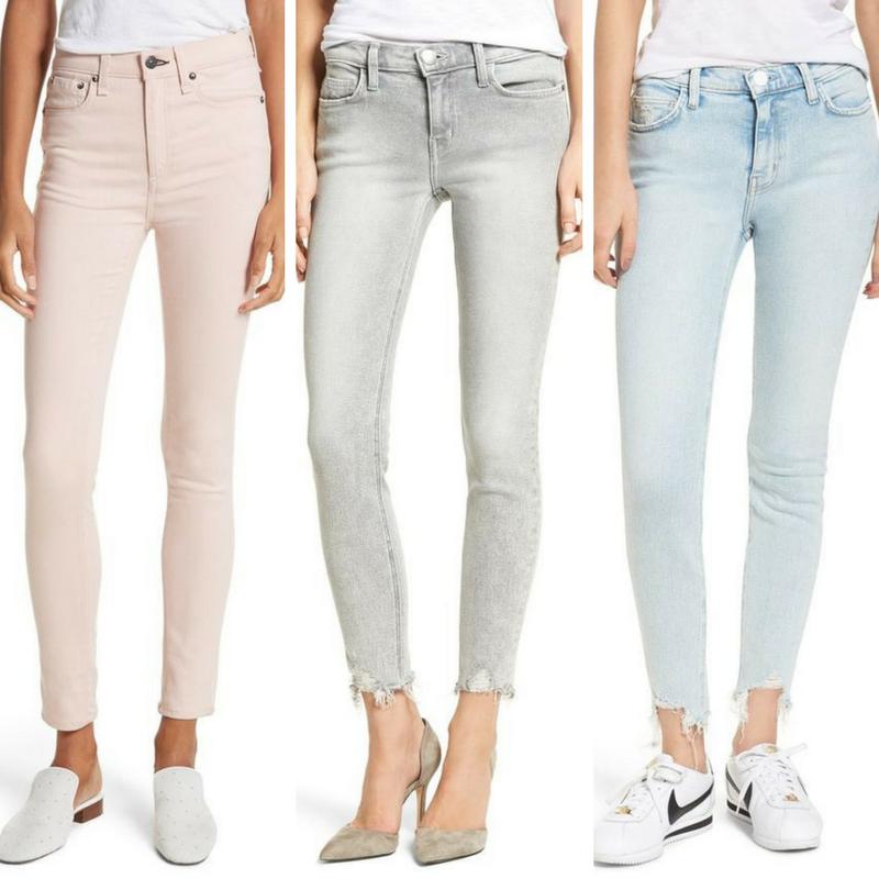 Jeans from  Rag & Bone ,  Current/Elliott ,  Current/Elliott