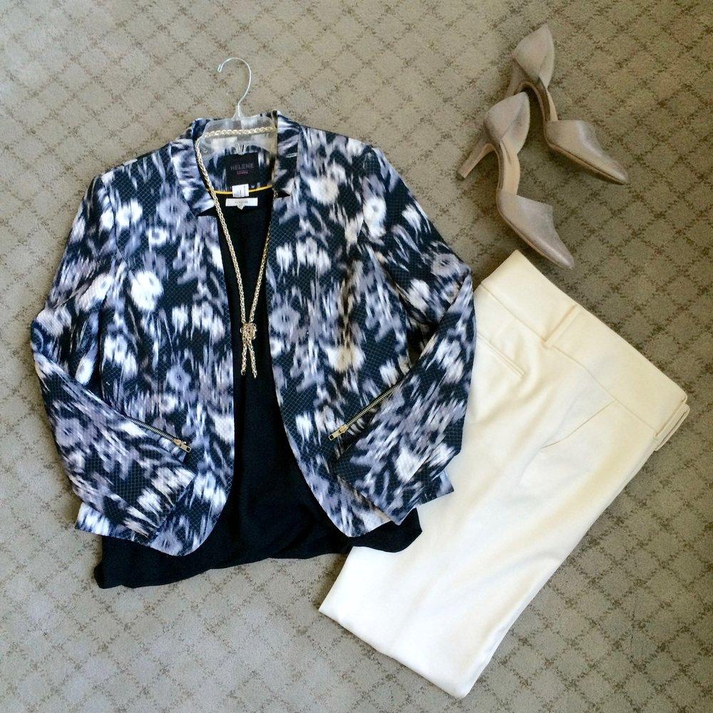 Batik print jacket and white pants.jpg