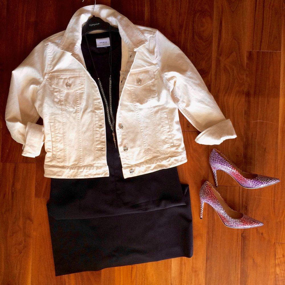 print heels and solid dress.jpg
