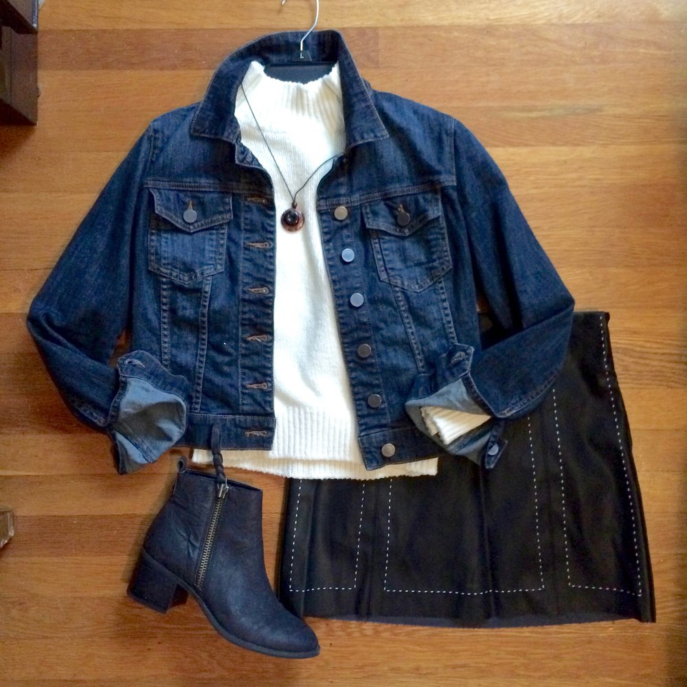 denim jacket and leather skirt.jpg