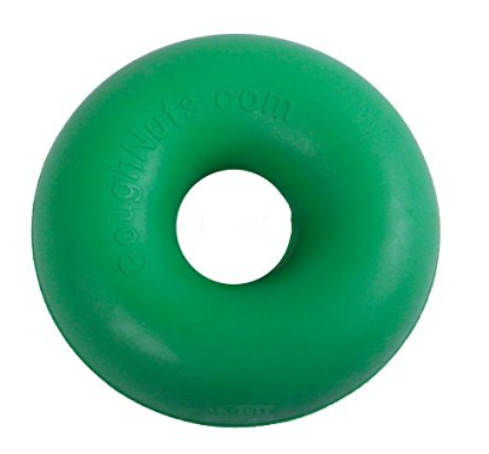 Goughnuts Chew Ring - This ring will last your dog awhile! You'll know when it is time to replace when your dog bites through to the red inside.