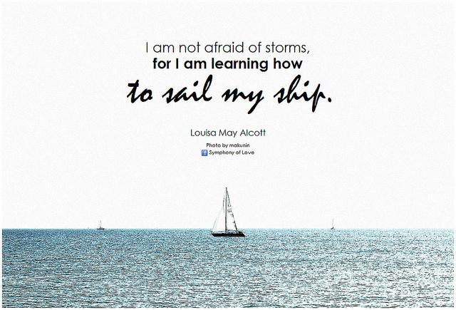 Sailing my ship, Alcott quote.jpg