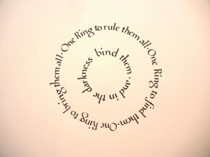 Foundational Script | Lord of the Rings Piece
