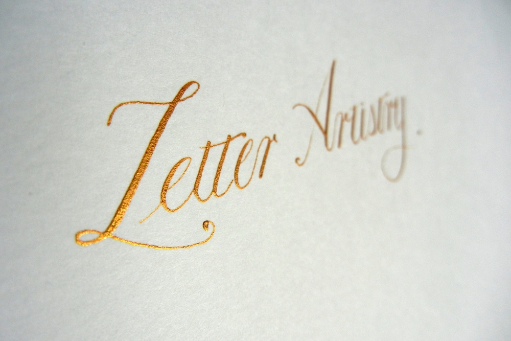 Copperplate Script | Letter Artistry Background