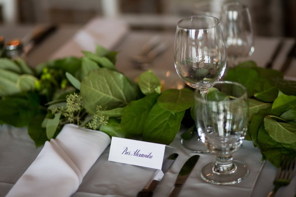 Copperplate Script | Wedding Placecards
