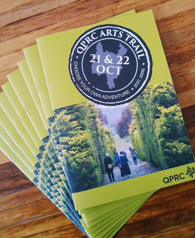Choose your own adventure art trail starts next weekend. Find and visit a studio of interest to you and enjoy! #arttrail #queanbeyan #weekend
