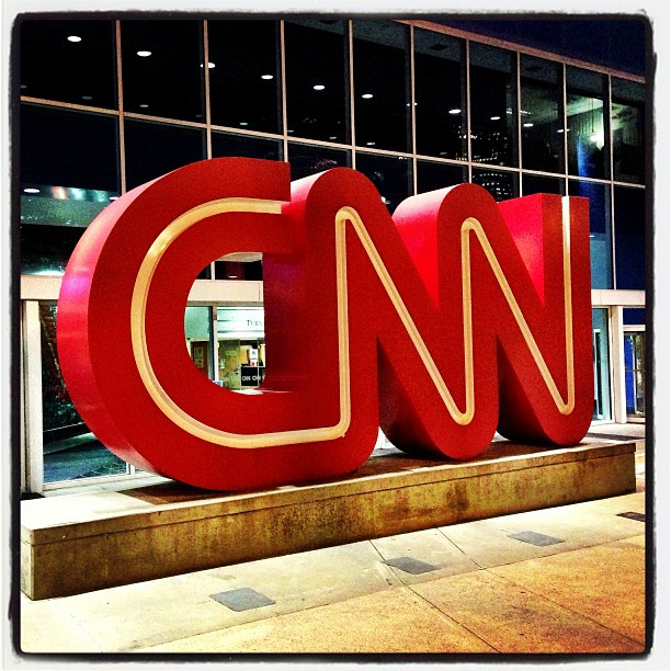 News? (at CNN Center)