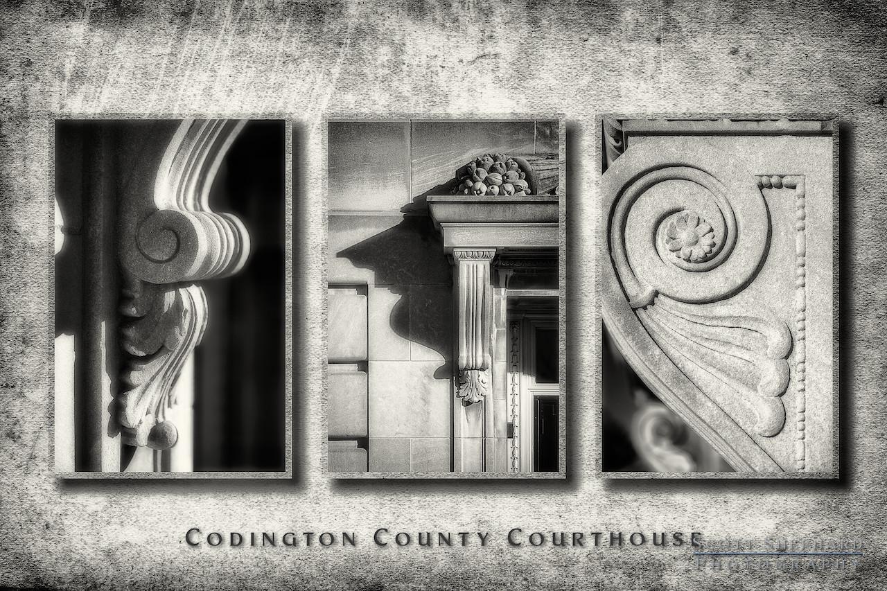 2013 11-10 Court House Triptych by Watertown, South Dakota, photographer Scott Shephard