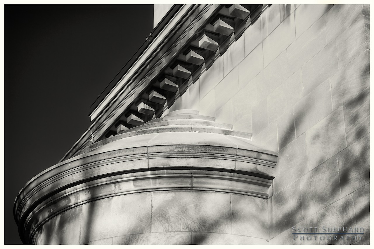 2013 11-21 Lines and Texture - St. Cecilia Cathedral by Watertown, South Dakota, photographer Scott Shephard