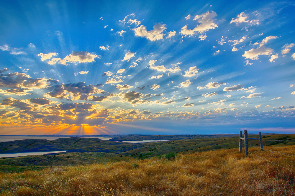 2014 11-09 Flashback Sunday:  Glorious Sunrise by Watertown, Sou
