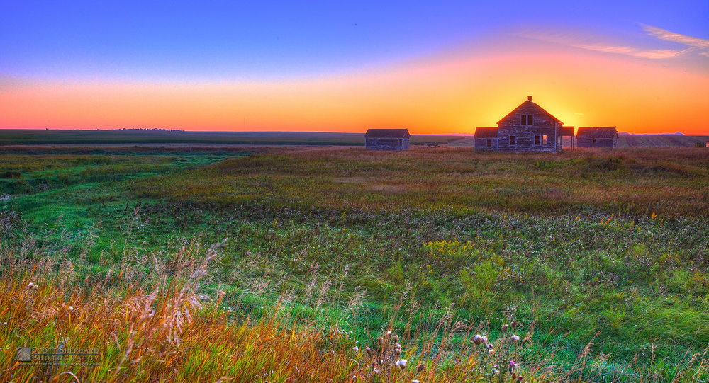 Old Farm At Sunrise.jpg