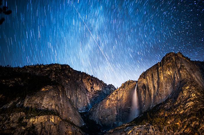 Yosemite Falls Nikon D700 35mm 1.4