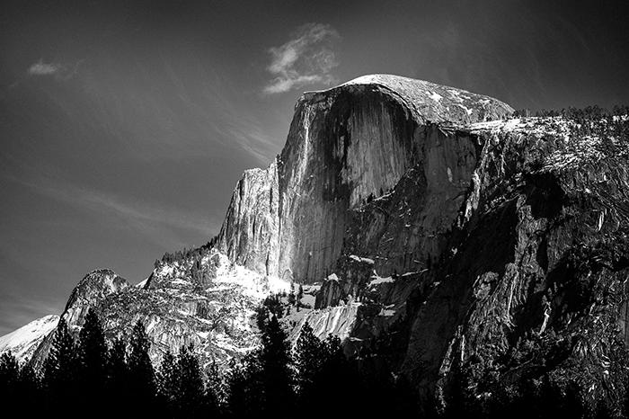 Yosemite Half Dome Nikon D700 70-200mm 2.8 VR II