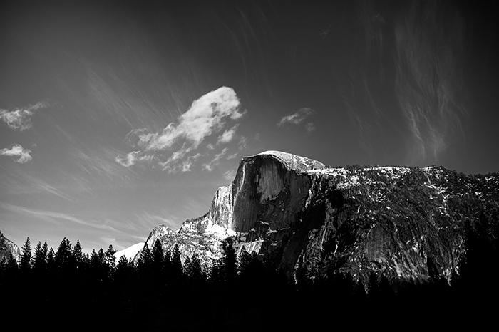 Yosemite Half Dome Nikon D700 35mm 1.4