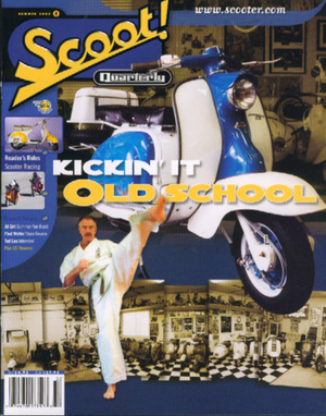 Scoot! Quarterly Cover