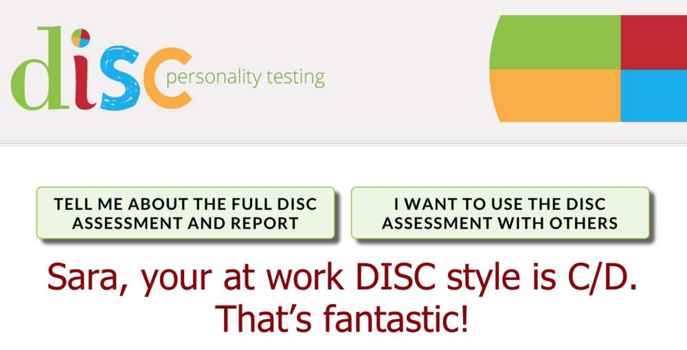 DiSC Personality Testing [FREE] — www.goffcreative.com