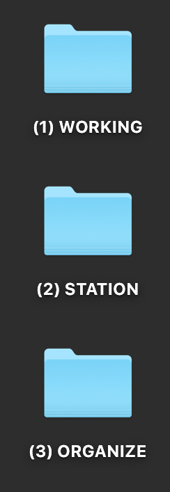 The only 3 files I keep on my desktop. Click through to get more details, or Pin this for later!