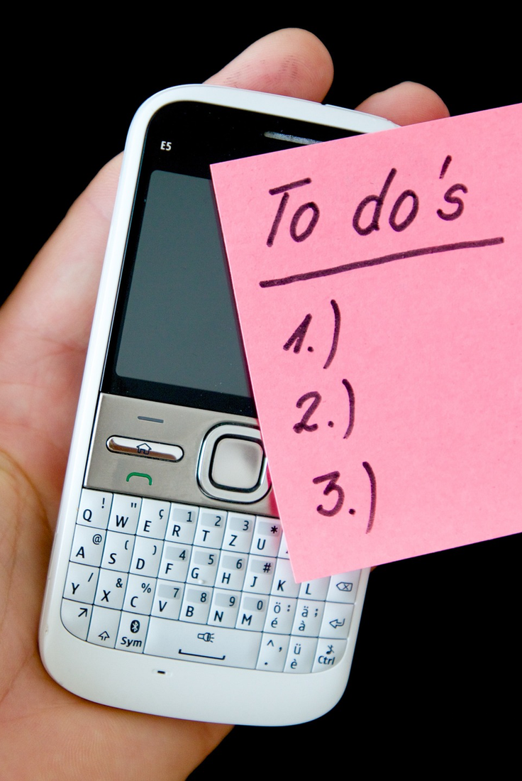 (4) Check over your to-do list before starting your workday | GoffCreative.com