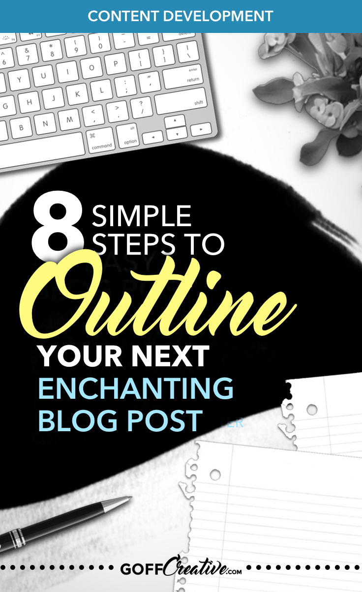 Ever wonder what other bloggers need to write blog posts? Here's my easy post writing outline process to help you create better blog content. Click through now, or Save this for later!
