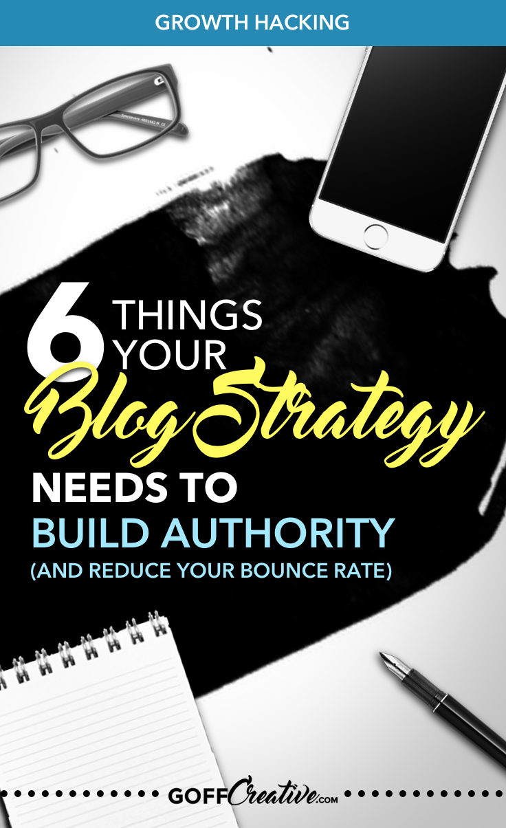 6 things nobody else is telling you. 6 things to help you build authority and keep your blog visitors on your website longer. 6 things to keep your content valid, legitimate, and most of all —unique. Click through for a fresh take on your online future. Or Save this for later!