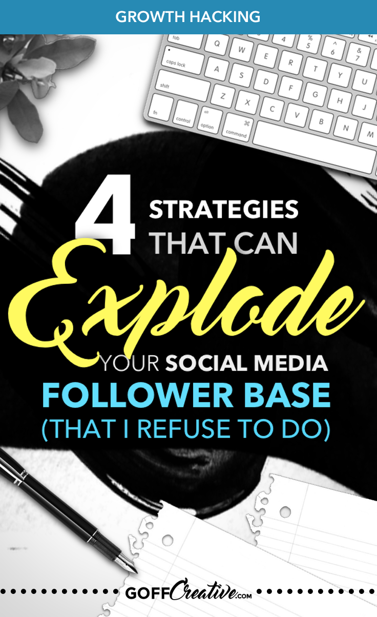 Want to know how you can build a social media following the non-sleazy way? Well, here are the skeezy ones to you'll know to avoid + alternatives to help you build an authentic, quality social media presence. Click through or Save this for later!