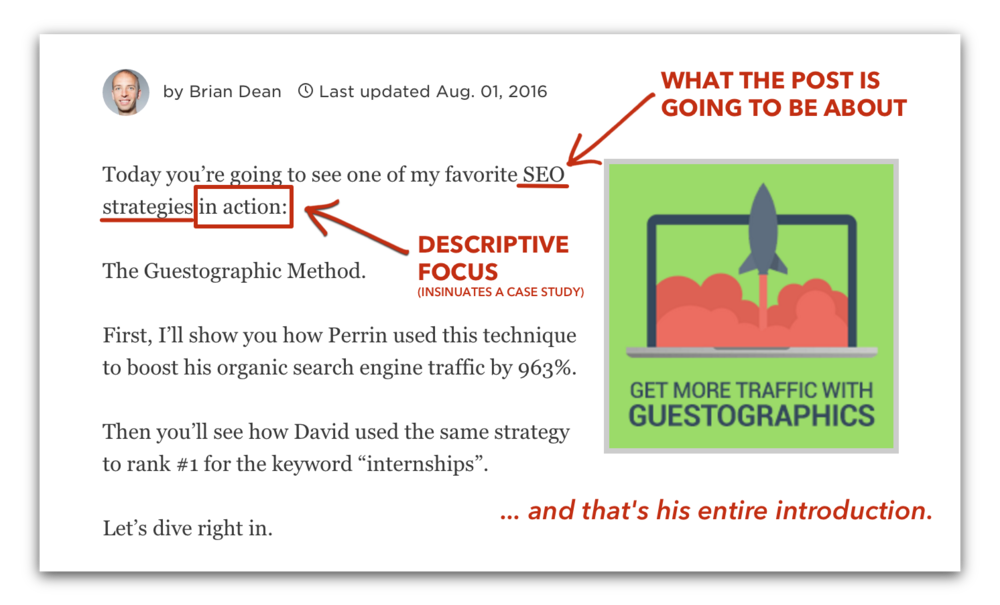 "Brian Dean of Backlinko.com: His ""cut to chase"" SEO method broken down into an effective, search engine referral traffic generating machine."