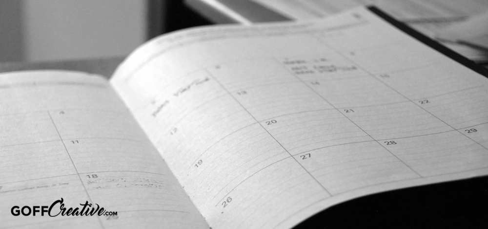 Dissecting a Mompreneur's Schedule: Succulent Strategies to Run Your Day Like a Well-Oiled Machine | GoffCreative.com