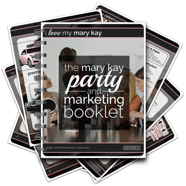The Mary Kay Party & Marketing Booklet | GoffCreative.com