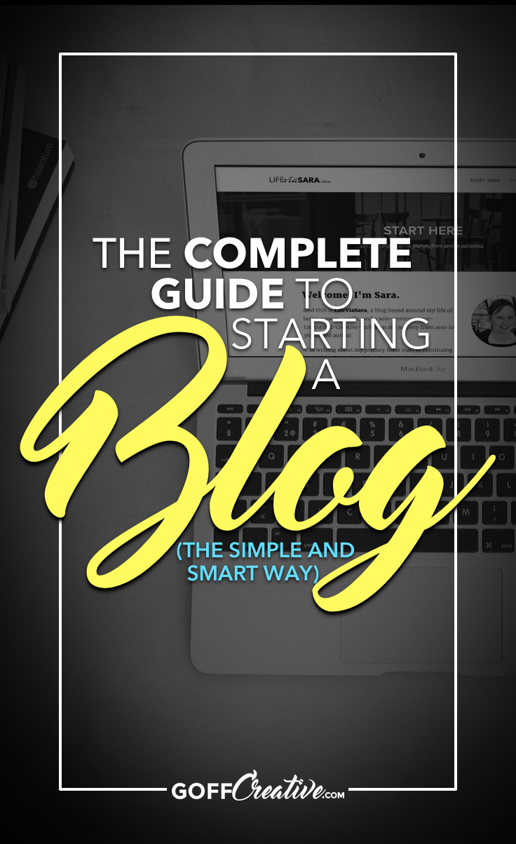 There's more to a new blog or business than just a pretty website. Get the complete guide to starting a blog the simple and smart way. Start here, or Save this for later!