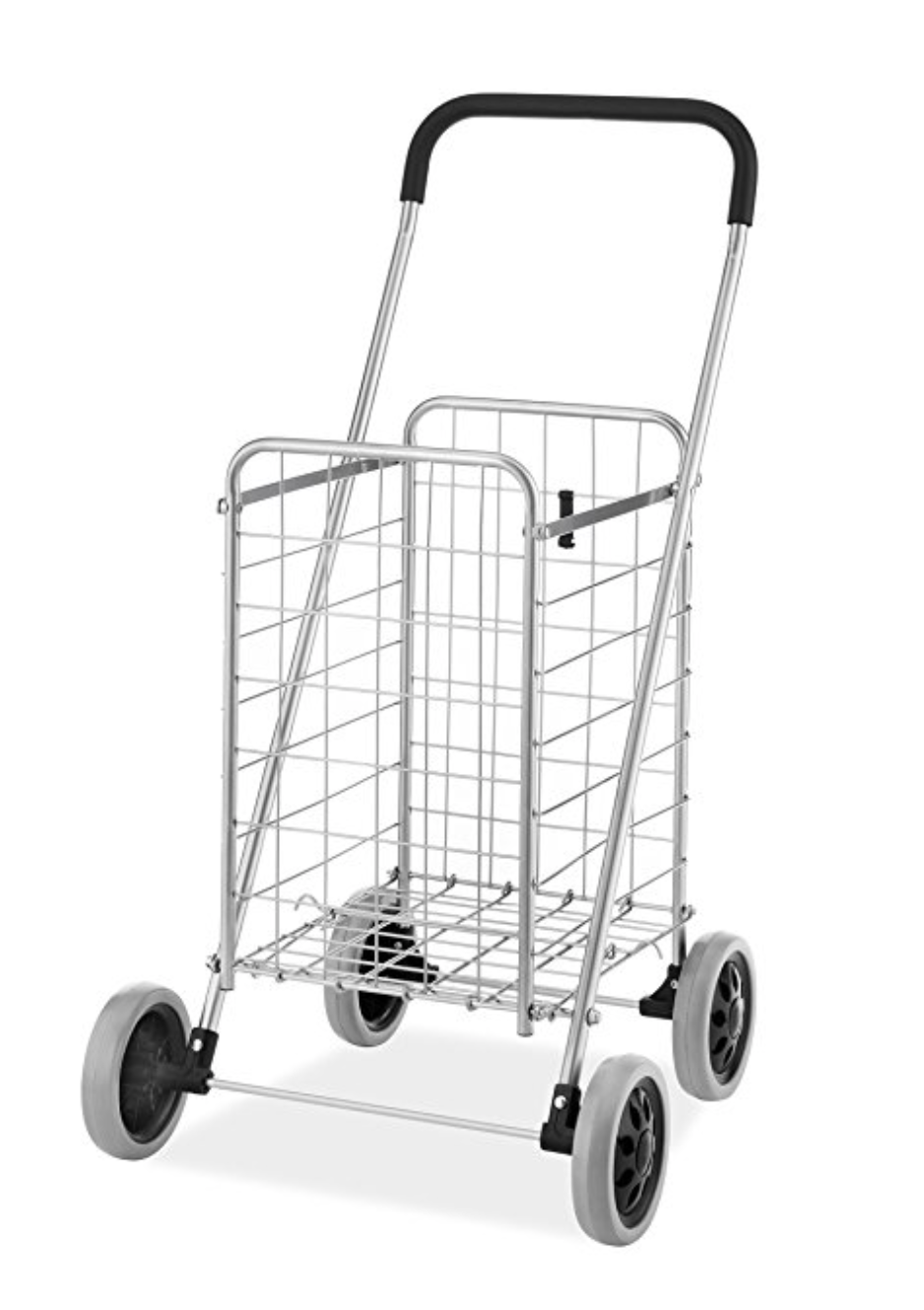 Simple rolling utility cart