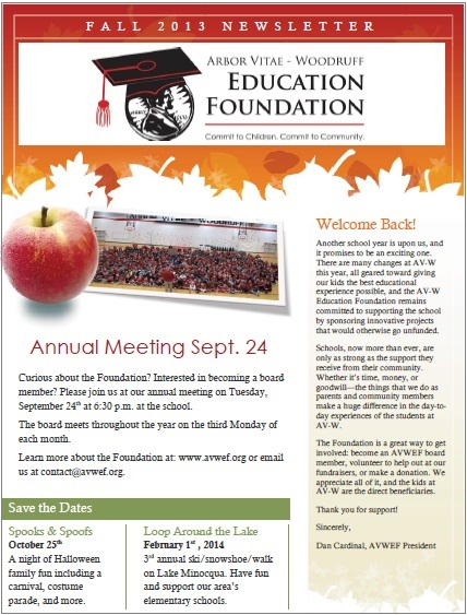Read Our 2013 Newsletter