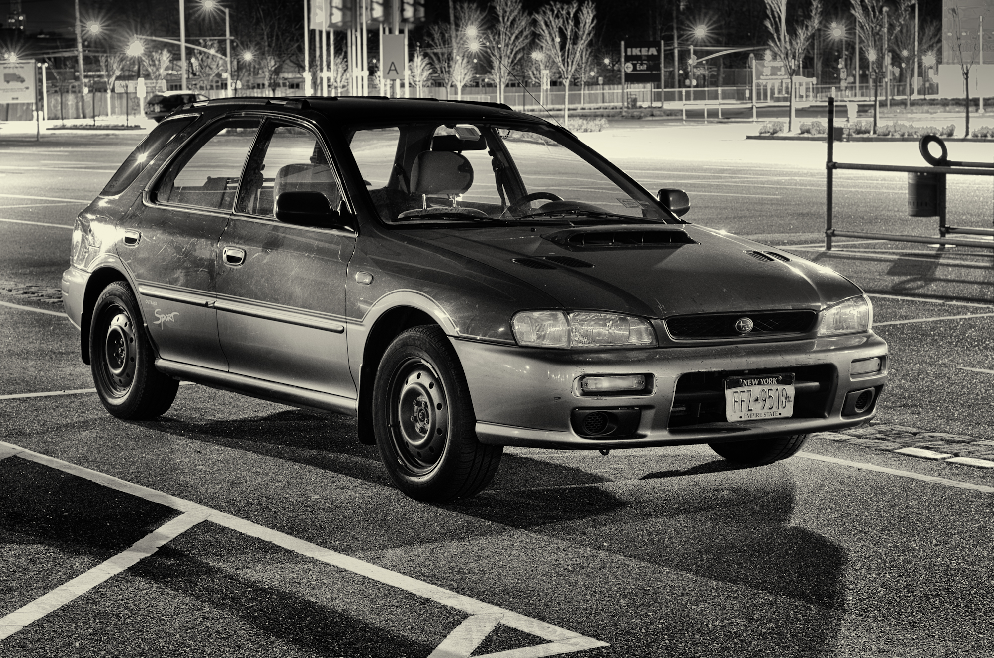 Syl's car