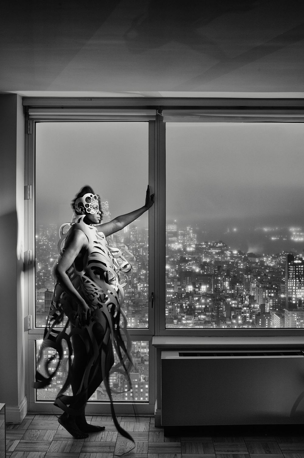 Falana Fox on the 56th Floor, Manhattan