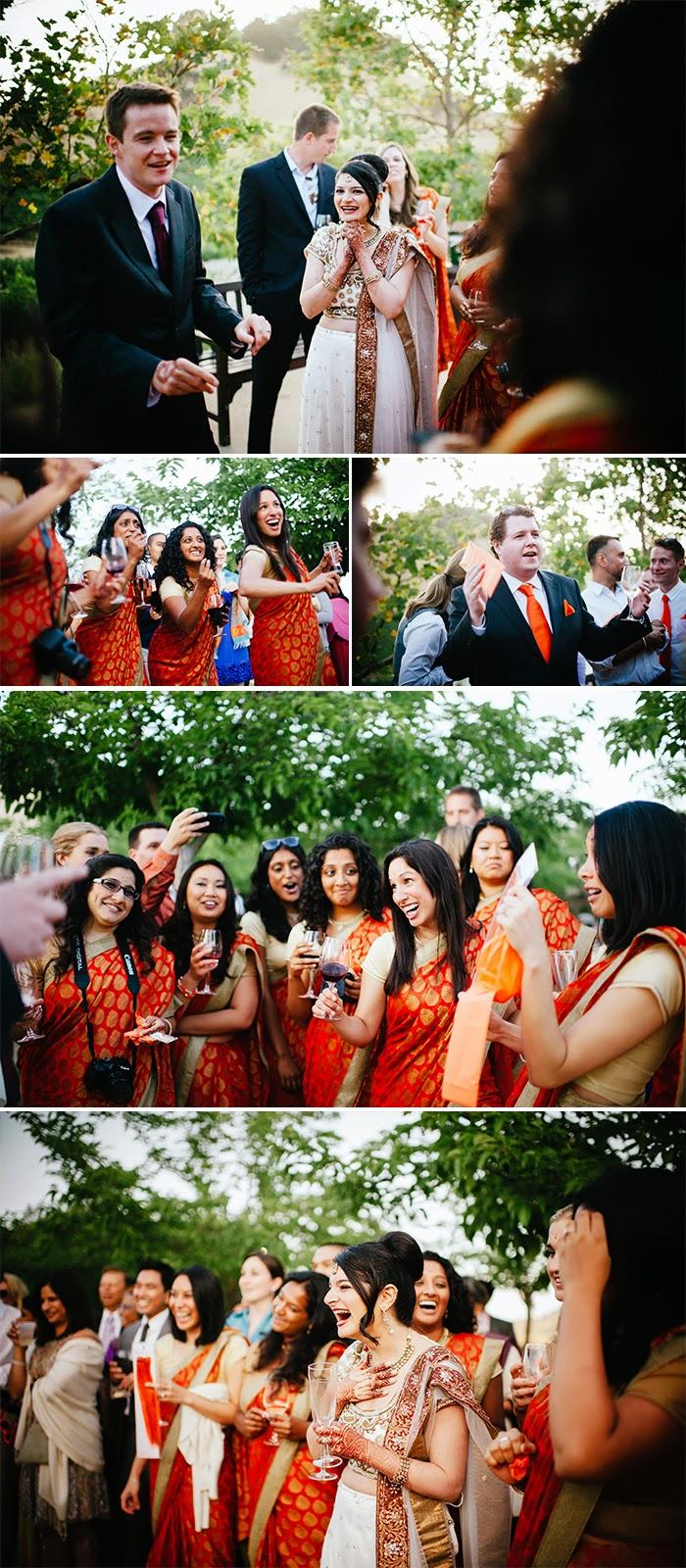 San Martin wedding Joota Chupai Clos LaChance Winery