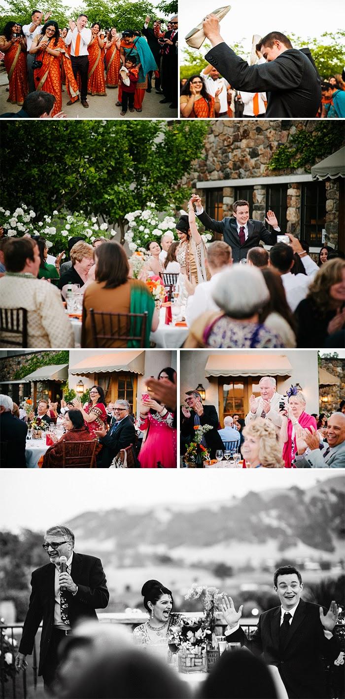 San Martin wedding reception Clos LaChance Winery