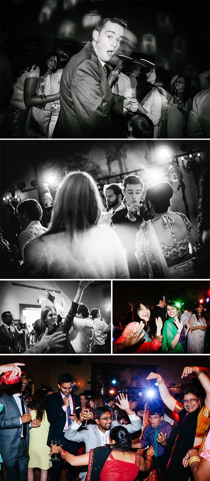 San Martin wedding reception dancing Clos LaChance Winery